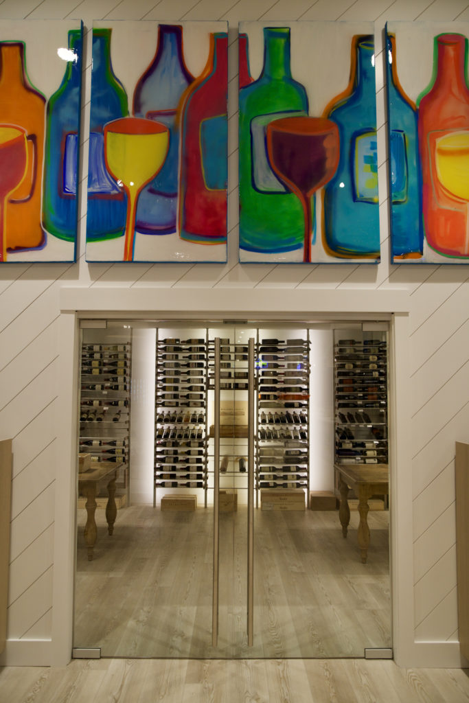 Temperature-controlled Wine Room