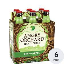 Angry Orchard Green Apple 6Pk 1